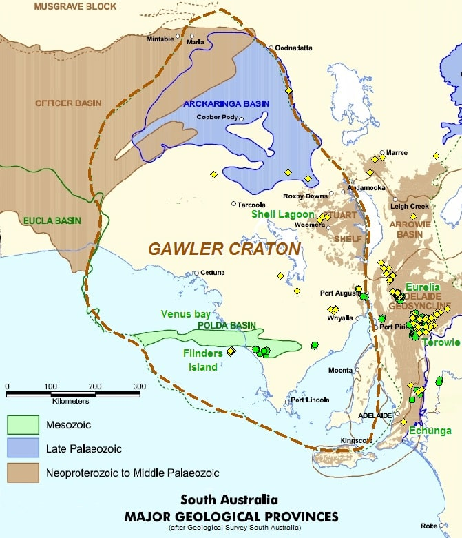 Gawler Craton Diamond Projects